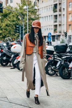 Fashion 2020, Fashion News, Fashion Beauty, Fashion Outfits, Milan Fashion, New Street Style, Cool Street Fashion, Street Styles, Elin Kling