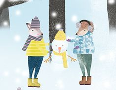 """Check out new work on my @Behance portfolio: """"4 Seasons-Children Ilustration"""" http://be.net/gallery/55480019/4-Seasons-Children-Ilustration"""