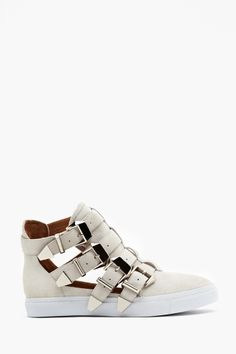 Indie Buckled Sneaker from Jeffrey Campbell...uh yea I actually really like these!