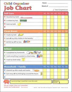 Child Organizer Job Charts | Main Photo (Cover)