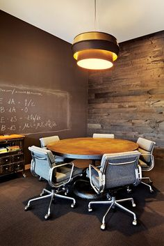 The interview room at Dropbox, designed by Lauren Geremia