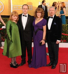 Downton Abbey - Mrs Pattmore, Molesley, Mrs Hughes - (WOW!). and the Doctor - 2014 SAG Awards Red Carpet