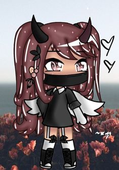 This was my first drawing when got my drawing tablet! Anime Girl Drawings, Kawaii Drawings, Cute Drawings, Cute Anime Character, Cute Characters, Anime Characters, Anime Wolf Girl, Anime Art Girl, Cute Anime Chibi