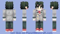 Midoriya Izuku - My Hero Academia (+3 other skins!) Minecraft Skin