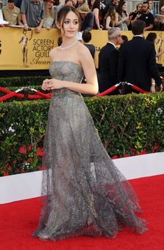 Emmy Rossum's dress