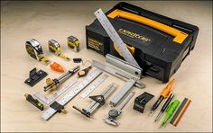 Not suggesting that you buy this woodworking/carpentry marking toolkit - but it may be valuable to learn what these tools do and decide which ones may be useful to you (remember, you may be able to find some used, rather than paying for new)