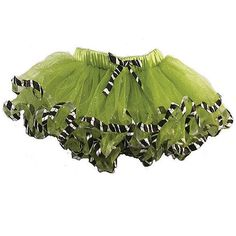 $29.99-$36.00 Baby A beautiful tutu for your little girl by Reflectionz.  This adorable nylon tulle tutu features animal print ribbon trim at the waist and hem.  This tutu is full of layers, making your little girl look like the diva she is inside.