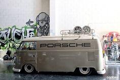 """""""Porsche"""" VW Van"""