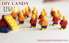 Lego Candy DIY (edible) - Blooming Homestead