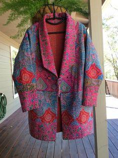Kantha coat