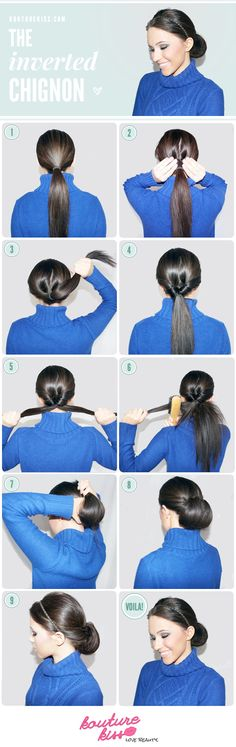 The Inverted Chignon Tutorial