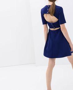 Image 4 of OPEN BACK DRESS from Zara