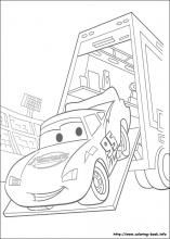 Cars Coloring Pages On Book Info VerdAk