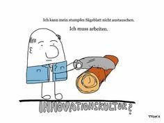 Keine Zeit für Innovationen