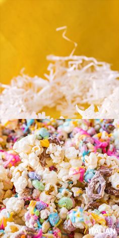 Bunny Bait Funfetti Popcorn Bunny Bait Funfetti Popcorn The Slow Roasted Italian slowroasted TSRI Recipe Videos Bunny Bait Funfetti Popcorn is a fun and nbsp hellip Cupcake videos Easter Snacks, Easter Candy, Easter Treats, Easter Recipes, Birthday Recipes, Easter Eggs, Easy Easter Desserts, Kid Desserts, Easter Food