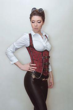 model: Revena style: me Steampunk Mode Steampunk, Style Steampunk, Steampunk Couture, Steampunk Cosplay, Gothic Steampunk, Steampunk Clothing, Steampunk Fashion, Victorian Fashion, Steam Girl