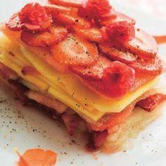 Lasaña de frutas #cuisine #recipes