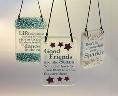 Fused Glass Quotes by Waci Glass