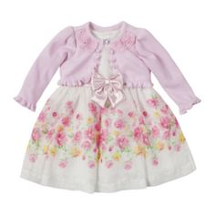 Nanette Baby 2-pc. Sweater and Dress Set – Girls 3m-24m  found at @JCPenney