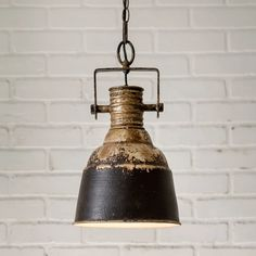 Details about Industrial Hanging Pendant Light Fixture Hardwired Vintage Farmhouse Decor - All For Decoration Vintage Industrial Lighting, Industrial Light Fixtures, Brass Pendant Light, Industrial Pendant Lights, Pendant Chandelier, Pendant Light Fixtures, Vintage Light Fixtures, Farmhouse Pendant Lighting, Industrial Interiors