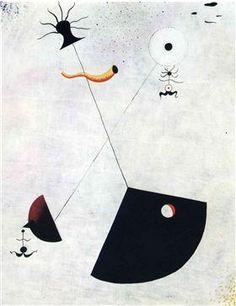Maternity - Joan Miro
