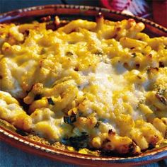 Mac and Texas Cheeses With Roasted Chiles | MyRecipes.com