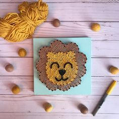 MADE TO ORDER Lion String Art