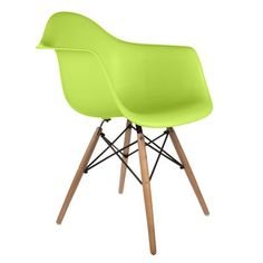 Langley Street Harrison Solid Wood Dining Chair Finish: Green