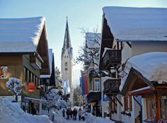 Oberstdorf, Germany  My birth place, had six very happy years there.  Was baptised in that Church.