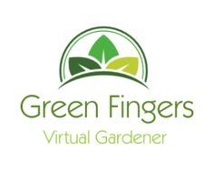 Logo design for Green Fingers, Virtual Gardener App. Contact us to have your own professional logo designed for only $14.  #logo #logo_design #design #graphics #graphic_design #affordable_design #professional_design #gardening #gardening_logo #app_logo #virtual_gardening #gardening_app