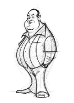 Concept Design Sketches - The Art of David Boudreau Disney Style Drawing, Disney Character Sketches, Character Drawing, Character Illustration, Cartoon Art Styles, Cartoon Sketches, Cartoon Design, Drawing Sketches, Sketching