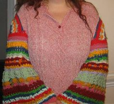 """Molly Weasley Sweater Sleeves ~free pattern~ Funny enough I had JUST watched a clip of Molly in THESE sleeves. Then as I scrolled down I saw this and thought """"Oh those look like Molly's sleeves!"""" Haha!"""