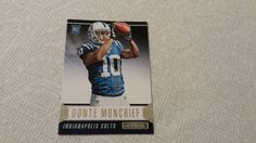 2014 Rookies and Stars Indianapolis Colts Donte Moncrief single football rookie card
