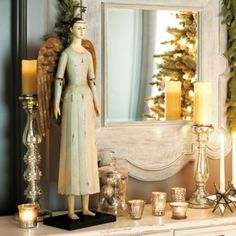i like anything and everything that has to do with angels and i like this statue and the rustic feel it has