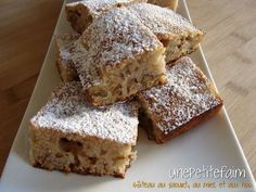 Gâteau noix, miel, citron de Chrystel