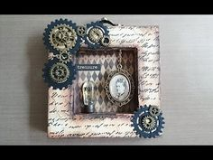 Do it yourself: Steampunk Shadow Box - Treasure You - http://steampunkvapemod.com/do-it-yourself-steampunk-shadow-box-treasure-you/