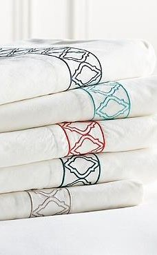 Influenced by the bold designs found in Moroccan tiles, our Resort Sheets add a touch of spice to your bedding.