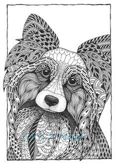 Small Breed Dog Portraits matted print of от MelangeSeriousFunArt