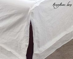 how to make a sofa slipcover part 2