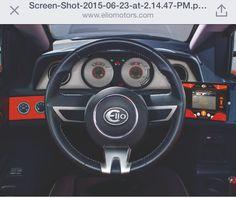 Elio motors - new dash