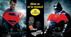 Si quieres ganar un kit de película que sortea @Cinesa, ¡apuesta por tu favorito! #BatmanvSupermanl