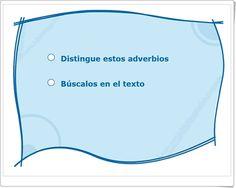 """""""Los adverbios"""" (Actividad interactiva de Anaya Digital)"""