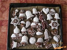 Christmas Biscuits, Cookie Icing, Joy To The World, Gingerbread, Nom Nom, Cookies, Holiday Decor, Desserts, Traditional