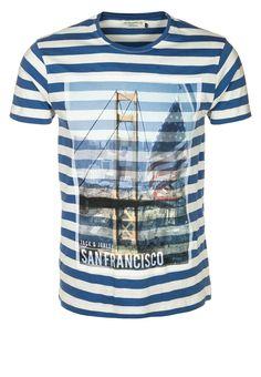 Jack & Jones - MURRAY - T-shirt print - Blauw