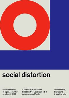 social distortion at la semilla, 1989 - swissted