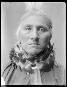 White Buffalo-Southern Cheyenne/1904 (Note:White Buffalo was a full blood Cheyenne who had naturally grey hair at a very young age).