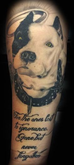 Dog Portrait Tattoo By Angelo @ Rising Dragon Tattoo. Fourways. Johannesburg. joburgink@gmail.com, 0114677350