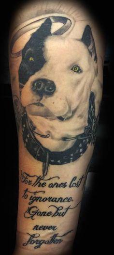 Dog Portrait Tattoo By Angelo @ Rising Dragon Tattoo. Fourways. Johannesburg. joburgink@gmail.com, 0114677350
