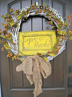 Thanksgiving Decor -