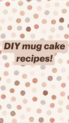 Fun Baking Recipes, Mug Recipes, Smoothie Recipes, Sweet Recipes, Cooking Recipes, Cake Recipes, Yummy Snacks, Yummy Food, Easy Healthy Snacks